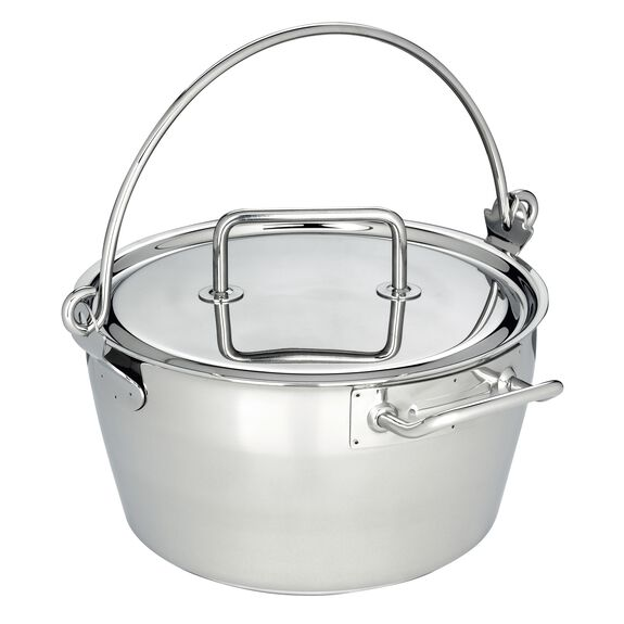 10.6-qt Stainless Steel Maslin Pan,,large