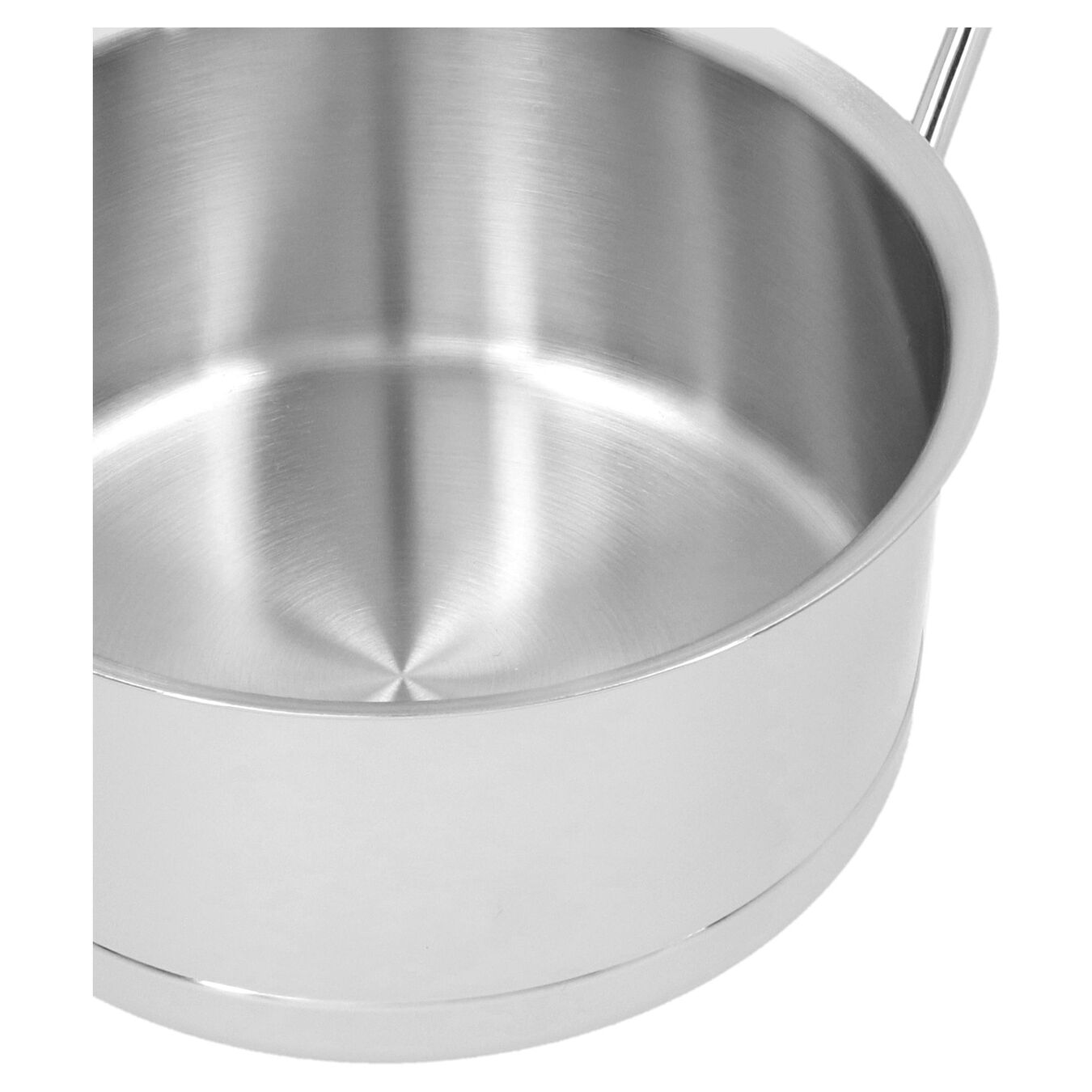 1.5 qt Sauce pan with double walled lid, 18/10 Stainless Steel ,,large 2