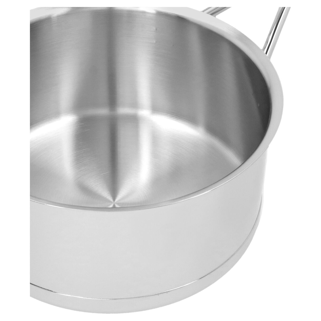 60-oz Sauce pan with double walled lid, 18/10 Stainless Steel ,,large 6