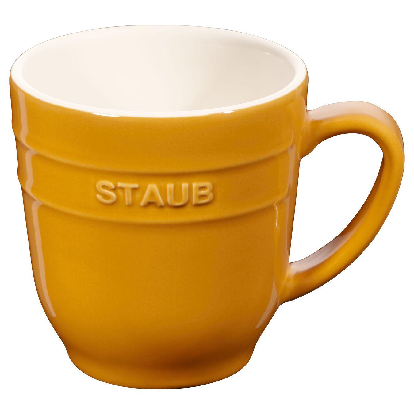 Mug 350 ml, Moutarde, Céramique,,large 1