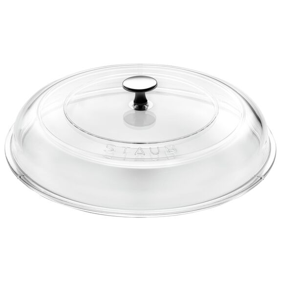 9.5-inch Glass Lid domed made of glass,,large