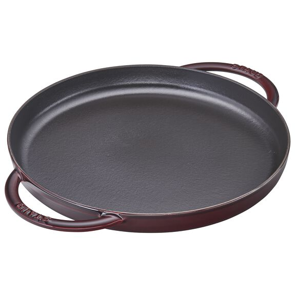 12-inch round Griddle, Grenadine - Visual Imperfections,,large