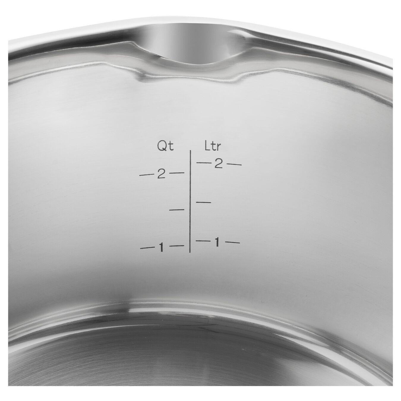 Casseruola con manico - 16 cm, acciaio inox,,large 3