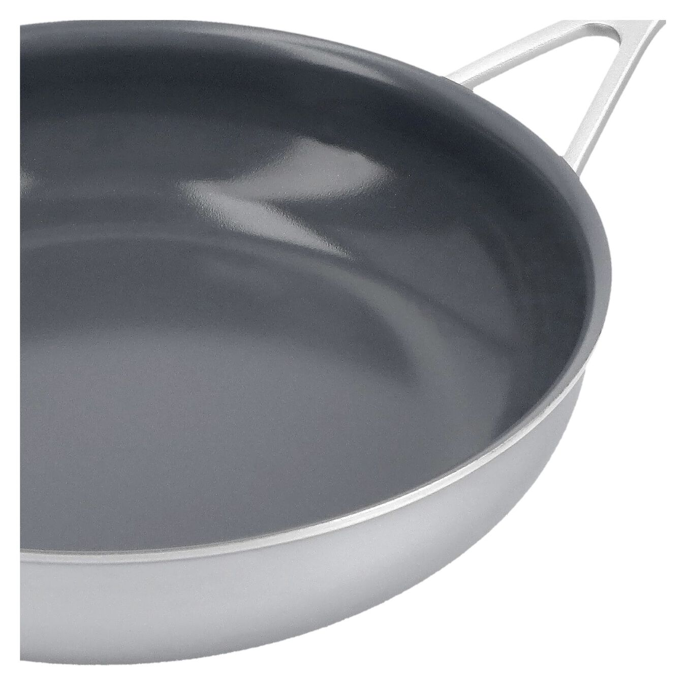 9.5-inch, 18/10 Stainless Steel, Non-stick, Ceramic, Frying pan,,large 5