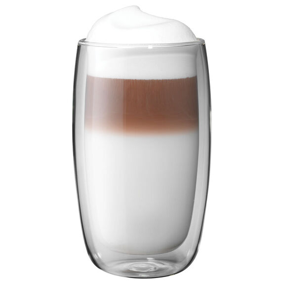 8-pc  Latte glass set,,large 2