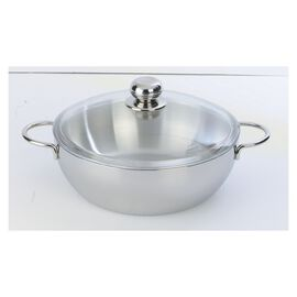 Demeyere Atlantis 7-Ply, 8.5-qt Stainless Steel Stock Pot