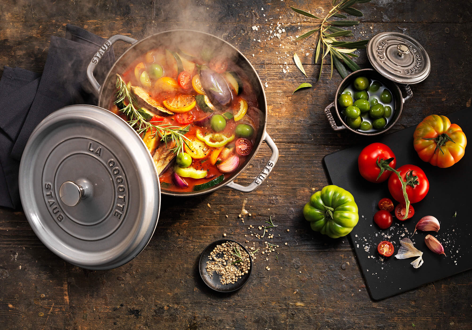 STAUB – LOOKS AS GOOD AS IT COOKS