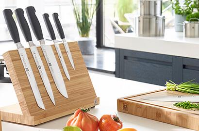 seleção de facas zwilling