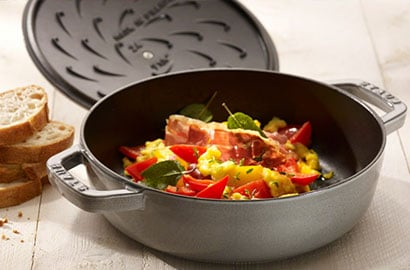 ZWILLING cookware use & care - braiser, saute pan