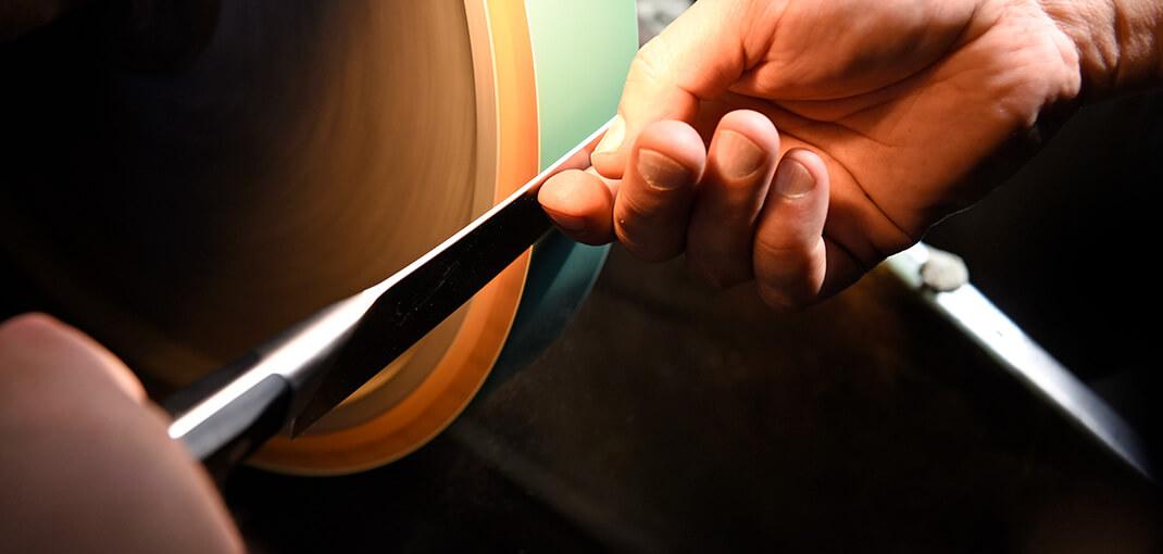 zwilling knife sharpened