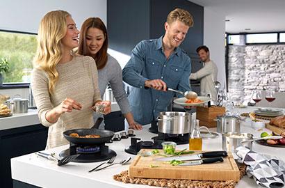 ZWILLING gemeinsam kochen