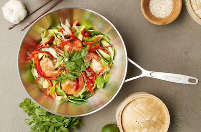Verwendung und Pflege von ZWILLING-Kochgeschirr – Wok