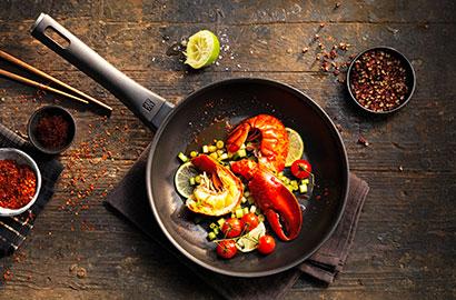 Verwendung und Pflege von ZWILLING-Kochgeschirr – Antihaftbeschichtete Pfanne