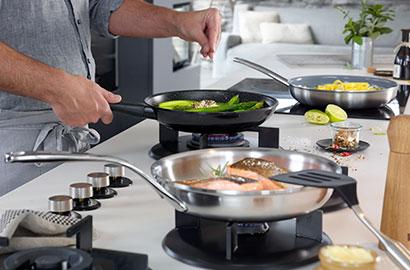Verwendung und Pflege von ZWILLING-Kochgeschirr – Pfannen