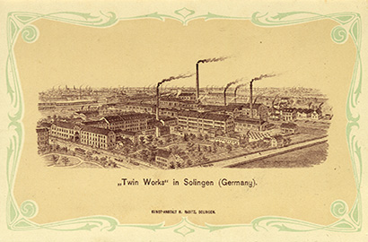 Old Zwilling J.A. Henckels Factory