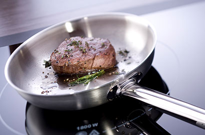 ZWILLING cookware use & care - stainless steel pan