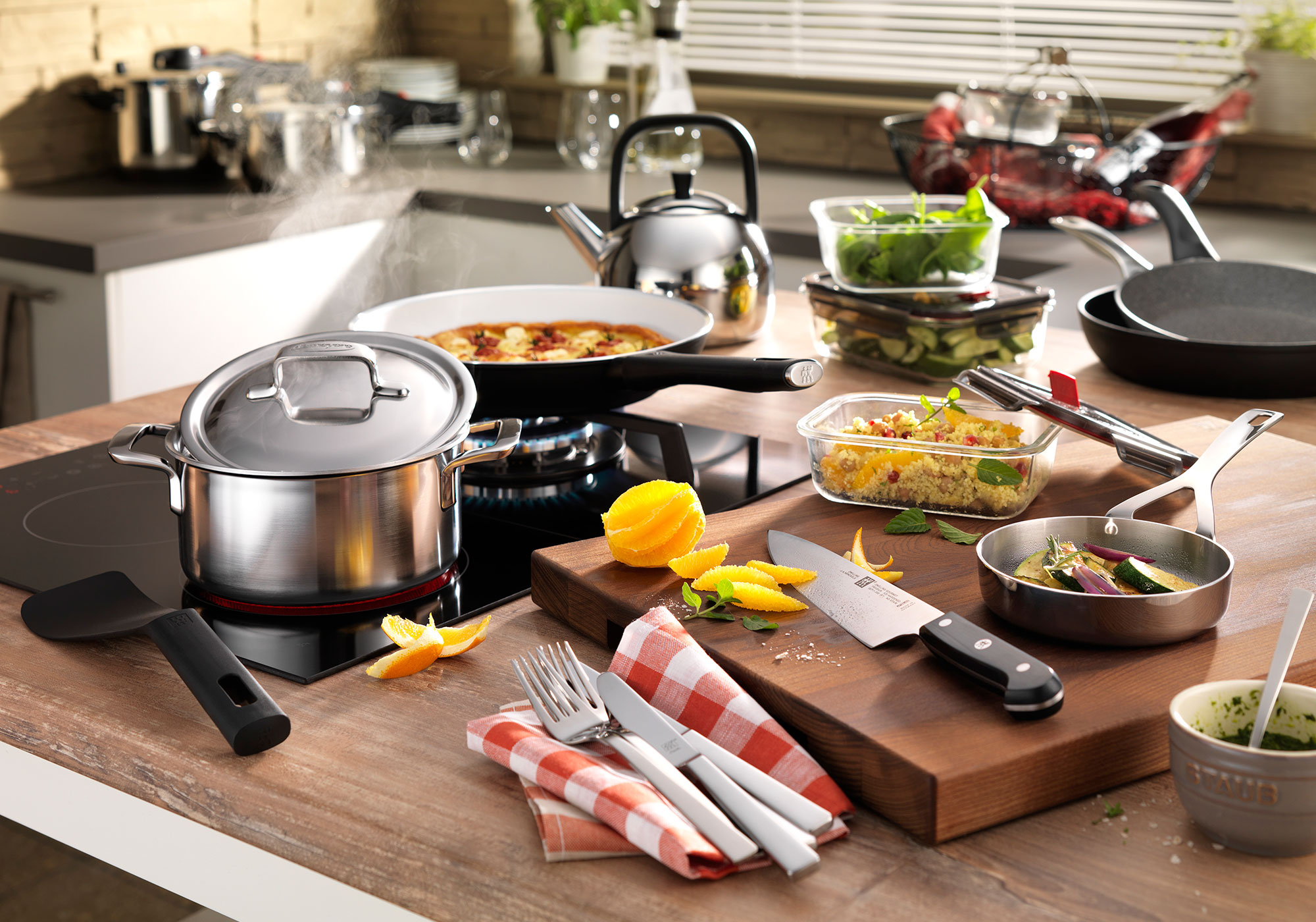 USE AND CARE YOUR COOKWARE – IT'S A PLEASURE